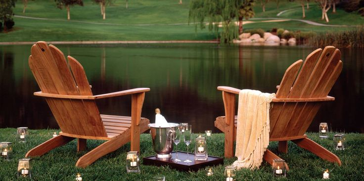 Enjoy an evening by the pond at the Welk Resorts San Diego.