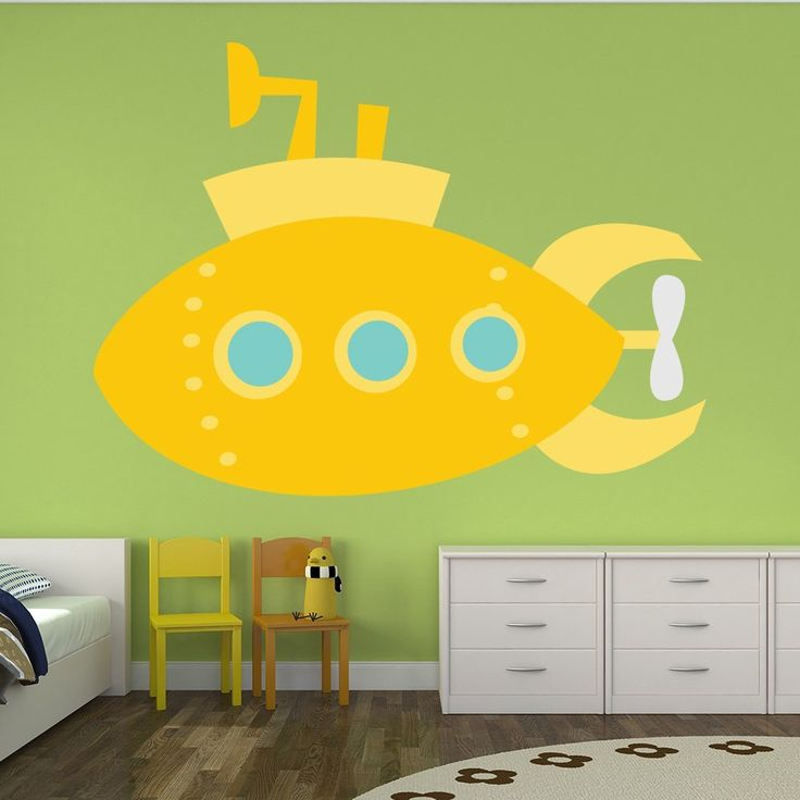 48 best Kids\' Rooms images on Pinterest   Yellow submarine, Baby ...