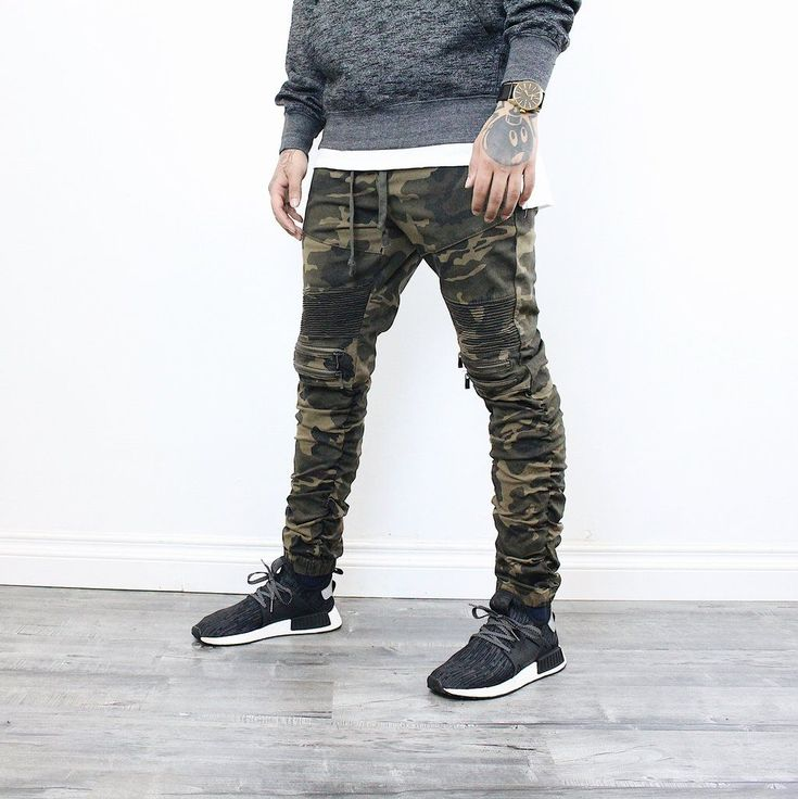 Malone Camo Pants #males'sfashionstyles