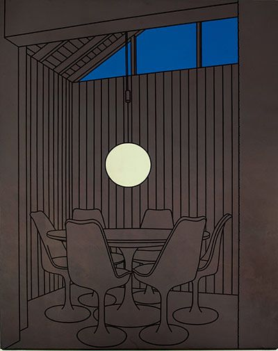 Credit: The Estate of Patrick Caulfield Dining Recess, 1972Patrick CaulfieldArts Council Collection, Southbank Ce...