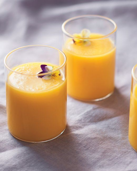 Tomato and Mango Gazpacho #Recipe | that's just souper | Pinterest