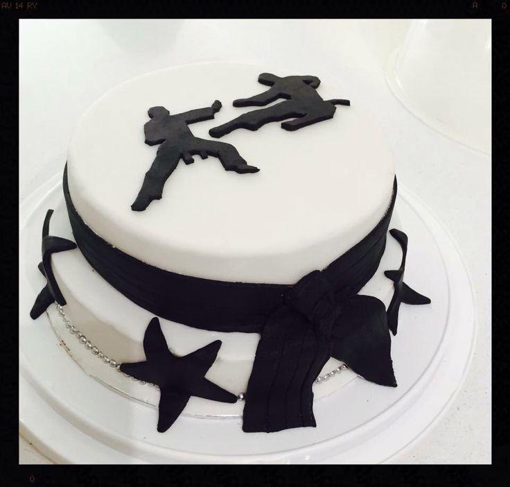 Martial Art Cake Ideas : 458 best images about Sport cake ideas on Pinterest ...