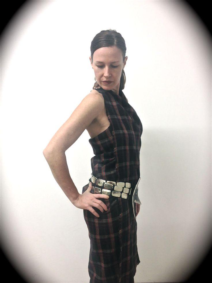 Un preferito personale dal mio negozio Etsy https://www.etsy.com/listing/110187526/dress-tartan-halter-neck-cross-wrap-with