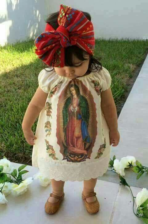 632be44ec8246 December 12 | Christmas⛄❄ | Mexican babies, Baby girl fashion ...