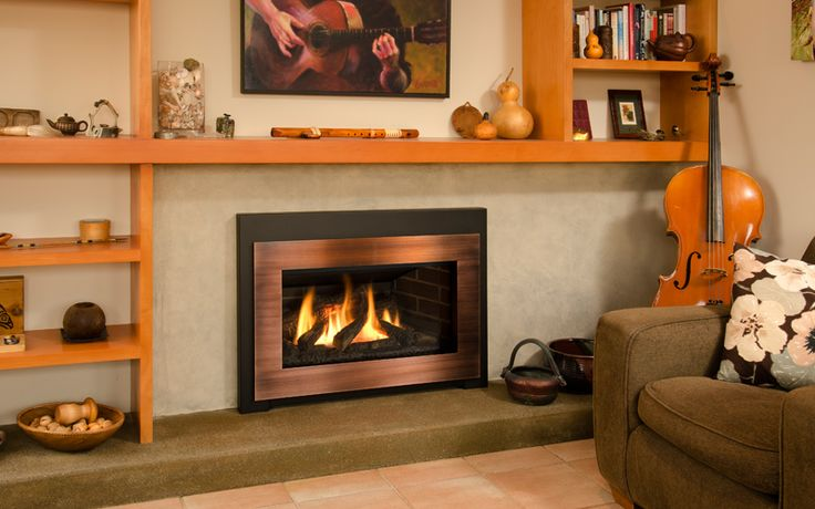 Legend G3 with Black Square Trim (756STB) and Copper Contemporary Surround (765CSC)