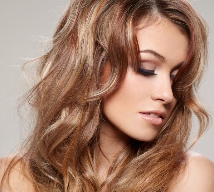 20 best hair color images on pinterest hair beautiful women and light brown hair with blonde and auburn highlights edbyzcwg pmusecretfo Image collections