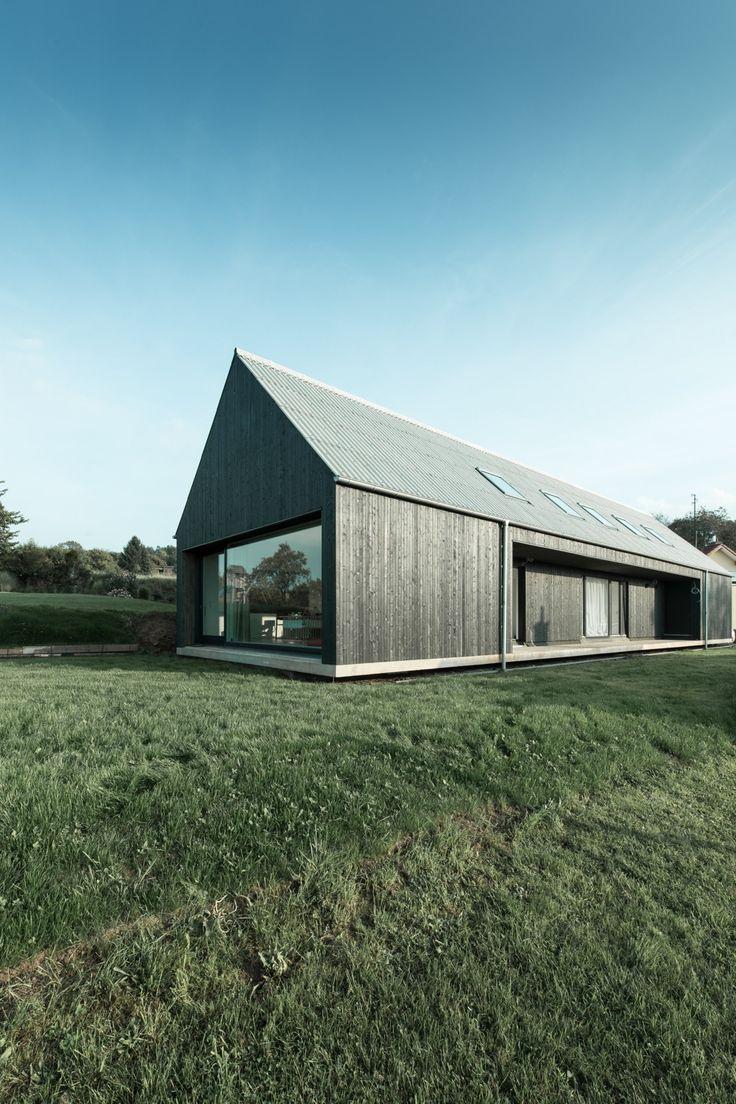 Die besten 25 moderne scheune ideen auf pinterest for Moderne architektur wohnhaus