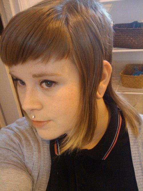 skinhead girl haircut