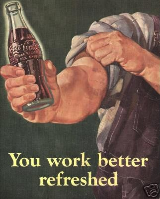 Old Coca-Cola Poster that would make my Grandma proud!