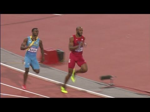 Athletics Men's 4 x 400m Relay Final Replay - London 2012 Olympic Games - YouTube  The Bahamas beat the Americans in the final 50 meters.  Whaaattttt!  Great race!