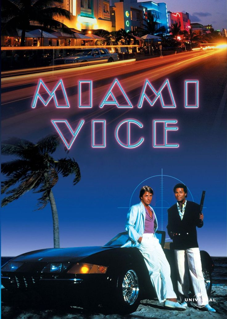 MIAMI VICE MOVIE POSTER