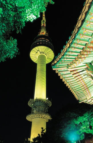 N Seoul Tower, Korea Selatan