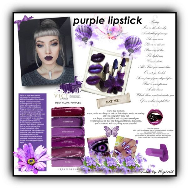 A beauty collage from March 2017 by forgoszel featuring beauty and Samsung #purplelipstick #contestentry #contest #polyvorecontest #beautiful #beautyset #lipstick