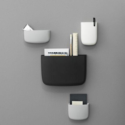 Designdelicatessen - Normann - Pocket 4 - veggoppbevaring