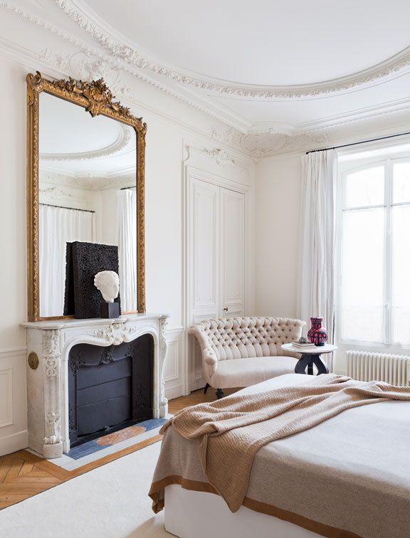 Chez Les D Corateurs Gilles Boissier French Bedroomswhite Bedroomsparisian