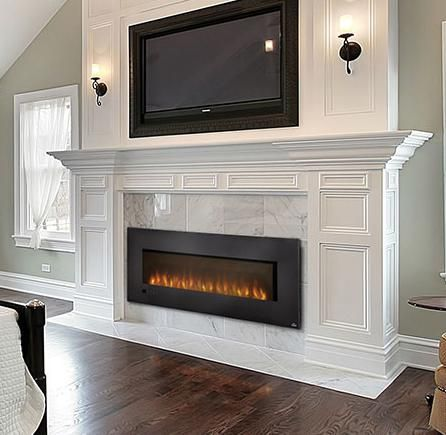 "Napoleon FireplacesSlimline Series 60"" Wall Hanging Electric Fireplace"