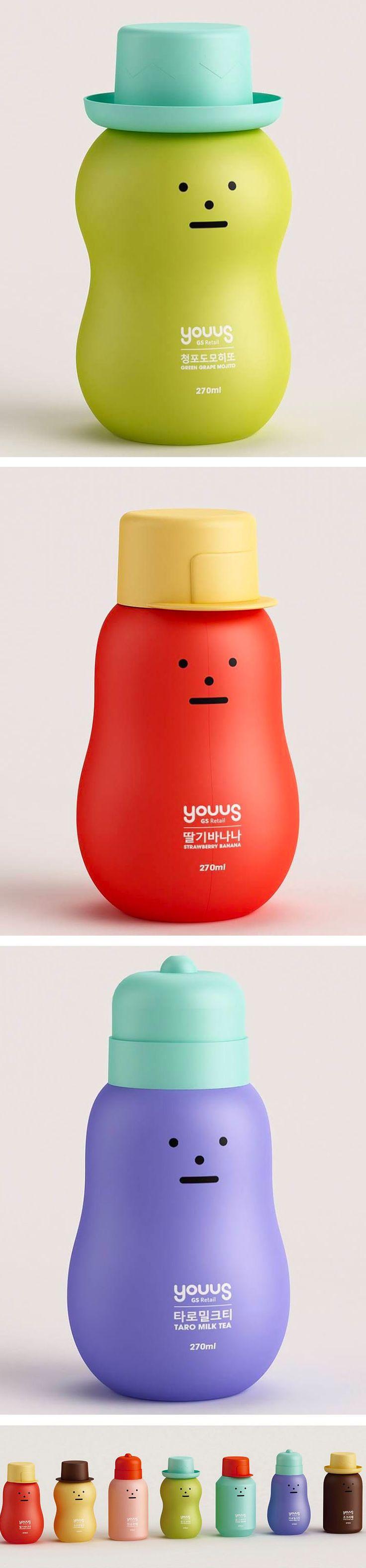 L o v e ! Sticky Monster bottles packaging design @forpackad