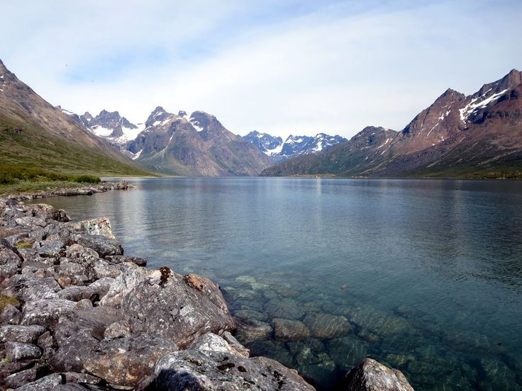 This lake off Tasermiut Fjord in Southern Greenland illustrates why the area has been called the Arctic Patagonia.