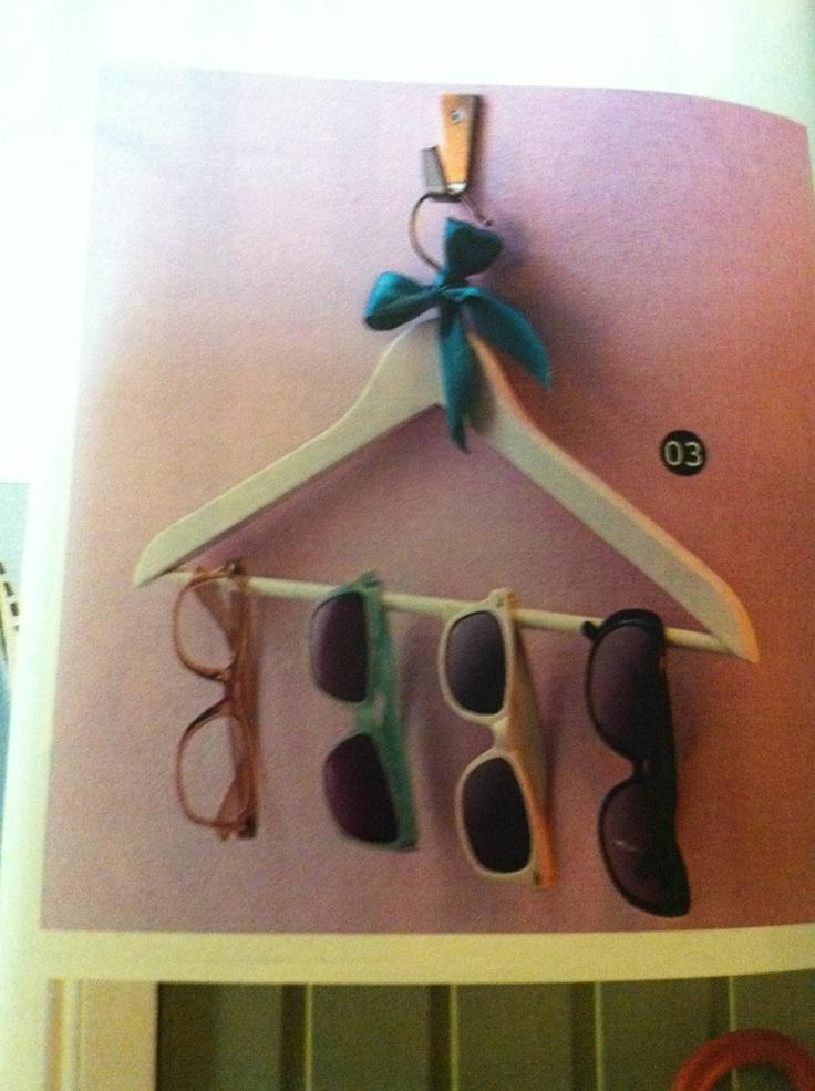 Cute sunglasses storage