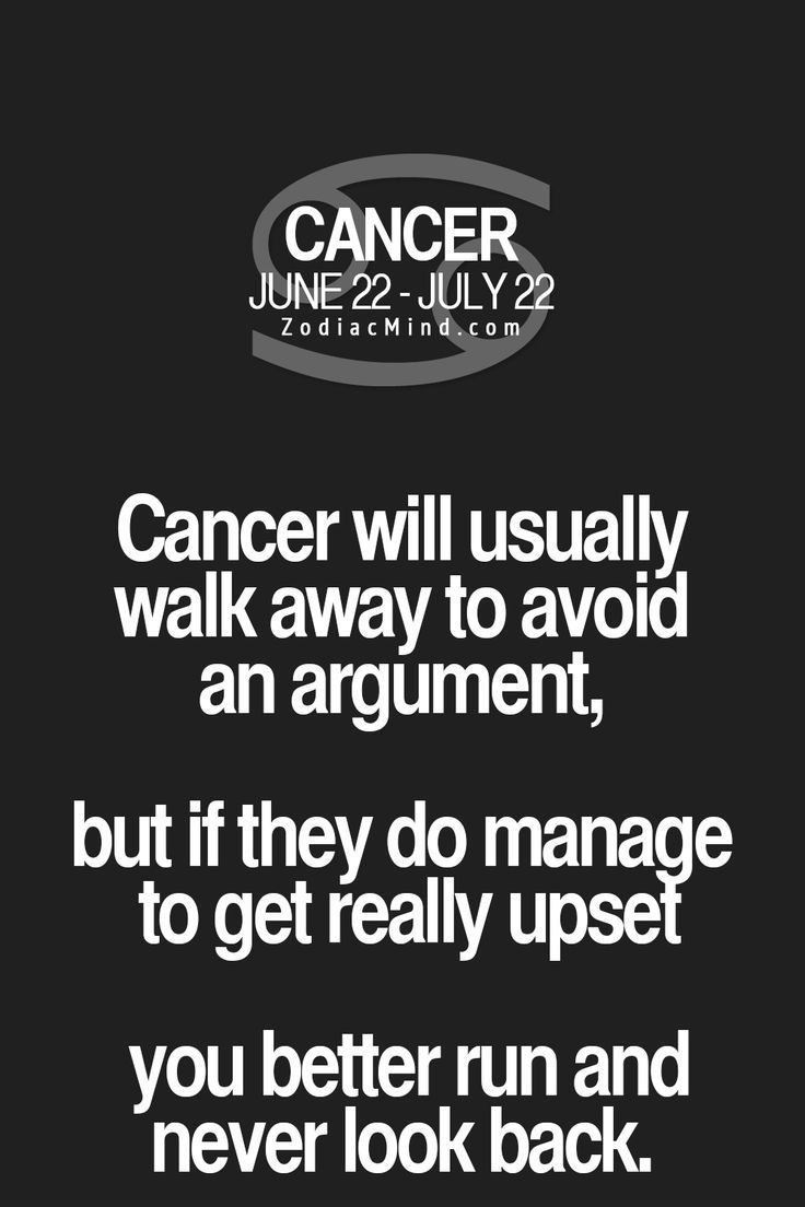 Change Zodiac Sign Cancer to Cancer Free! Ive gotten a lot better with age but dont piss me off....I would rip you to shreds. ♋