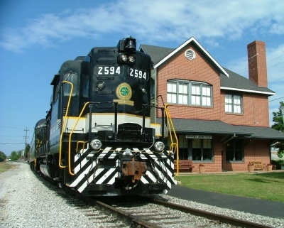 Ride a steam locomotive at the Tennessee Valley Rail Road! Choo choo!