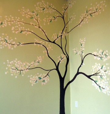 Tree Wall Mural Part 16