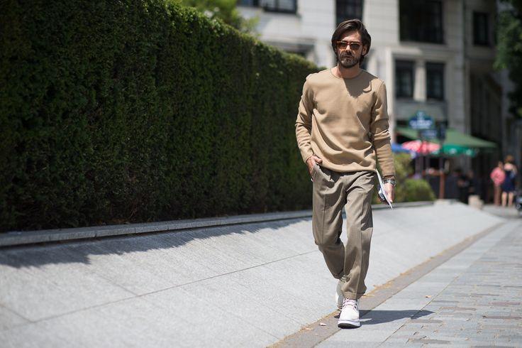 Giotto Calendoli shot by Daniel Bruno Grandl | Moda en la calle: París sigue siendo la capital de la moda