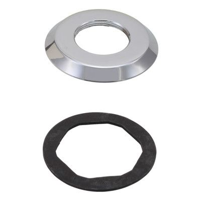 Delta Replacement Gasket and Base for Roman Tub Faucet Finish: Chrome