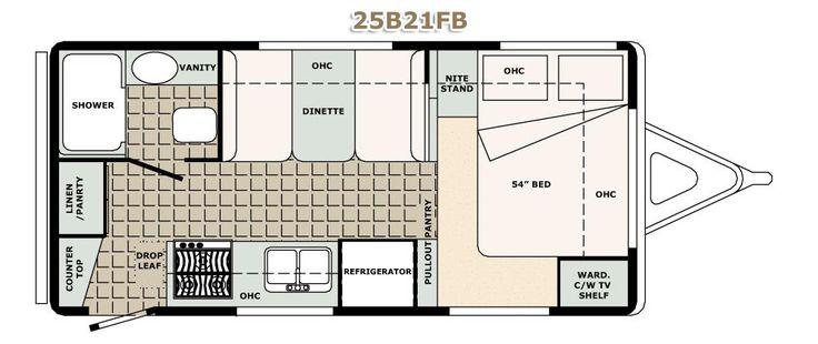 111 best rv floor plans images on Pinterest   Campers ...