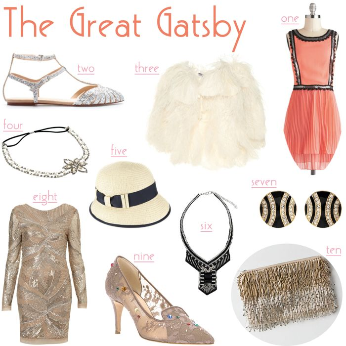 The Great Gatsby Fashion- Not exactly Disney but oh well