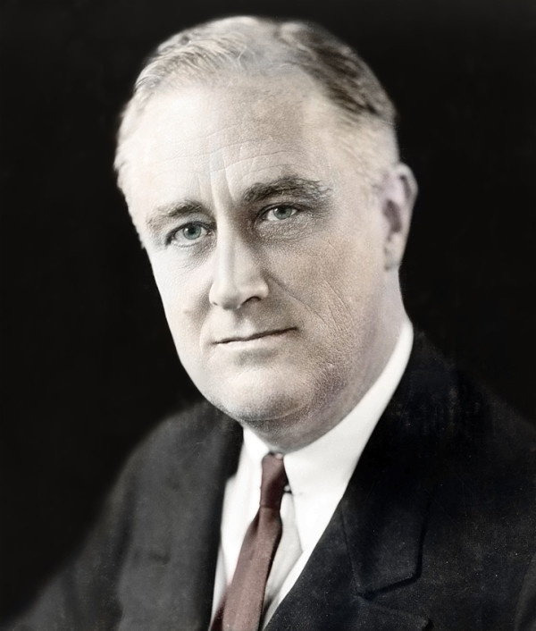 """""""This great Nation will endure as it has endured, will revive and will prosper. So, first of all, let me assert my firm belief that the only thing we have to fear is fear itself."""" - President F.D. Roosevelt, 1933.  One of my favorite presidential quotes of all time."""