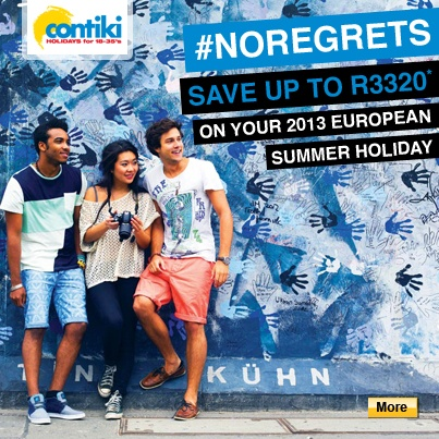 The worldwide leader in tours for 18-35s, Contiki Holidays create fun, hassle-free holidays with an unbeatable mix of sightseeing, cultural experiences, friendships and free time in over 40 countries around the world.
