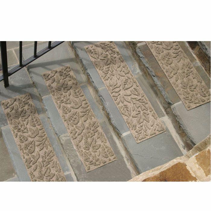 Waterhog Fall Day Stair Treads   Set Of Beige
