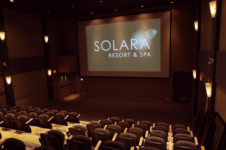 Aurora Theatre at Solara Resort & Spa in Canmore, AB! Canmore's only movie theatre!