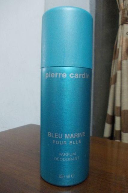#Pierre #Cardin #Bleu #Marine #Pour #Elle #Parfum #Deodorant #review #price and details on the blog