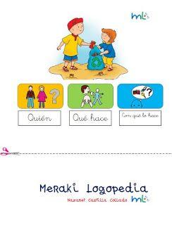 Meraki Logopedia Frases Sujeto Verbo Objeto Juegos