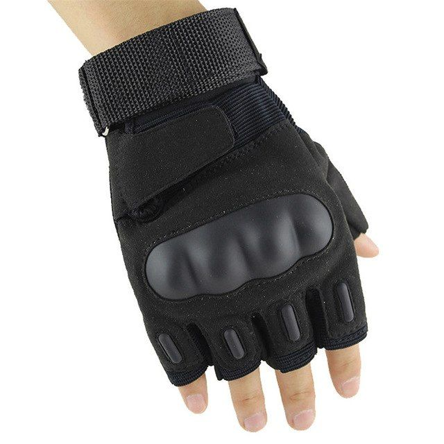 Outdoor Sports Half Finger Glove For Tactical Airsoft Hunting Riding Cycling