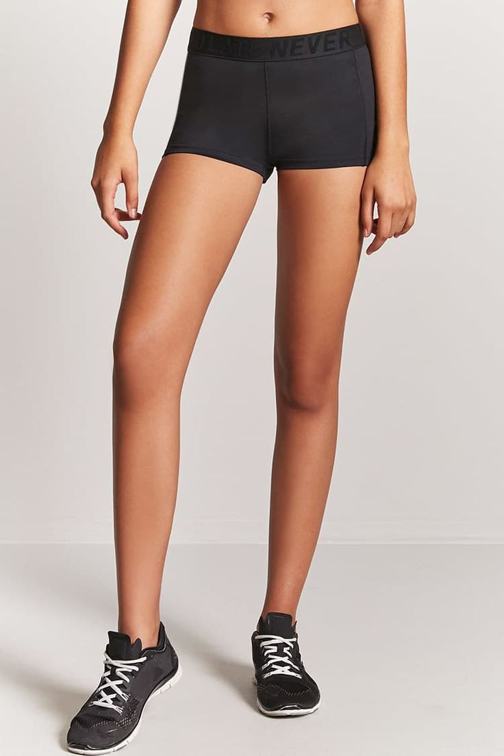 Active Never Too Late Graphic Shorts