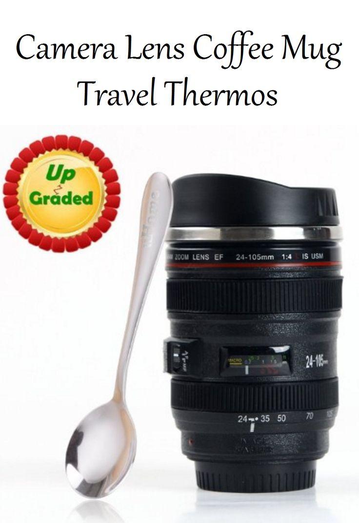 Coffee Mug - Camera Lens Travel Thermos #Photography #Kitchen https://www.amazon.com/gp/product/B0195ZRPAI/ref=as_li_tl?ie=UTF8&camp=1789&creative=9325&creativeASIN=B0195ZRPAI&linkCode=as2&tag=pinmug2-20&linkId=84ff0dc6d12763b3629986ff863ebae1