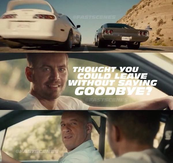 Fast & Furious 7 - tribute to #PaulWalker