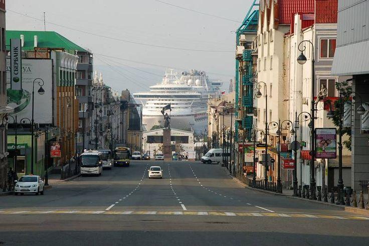круиз Владивосток