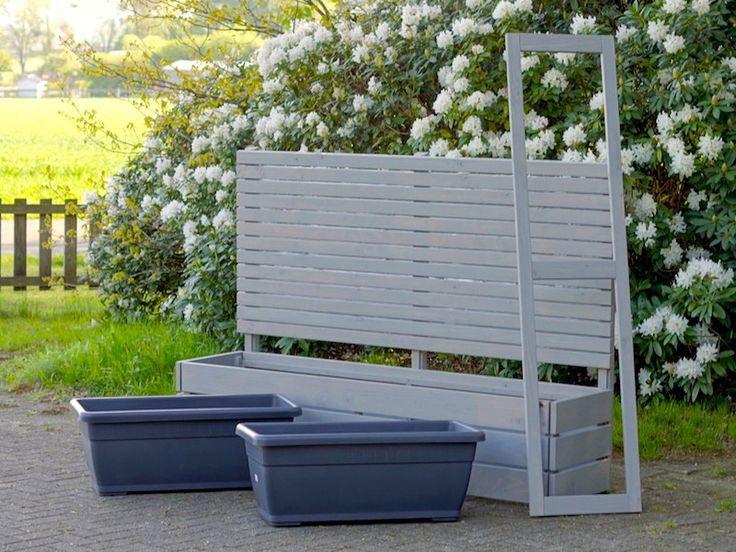 79 best sichtschutz mit pflanzkasten lang made in. Black Bedroom Furniture Sets. Home Design Ideas