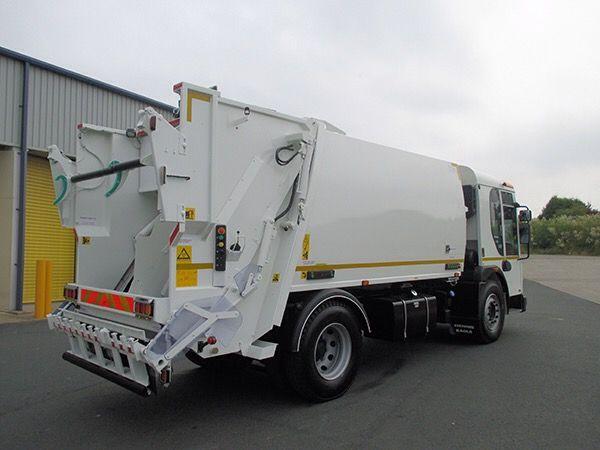 NTM K-2K DENIS EAGLE śmieciarka dwukomorowa do zbiórki dwóch frakcji odpadów, refuse truck, rear loader, garbage vehicles, Kommunalfahrzeuge, Benne a ordures, Recolectores, piccoli camion, Carico posteriore