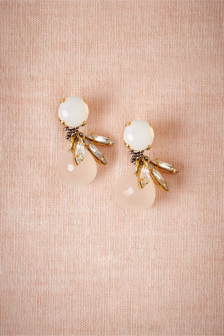 Rose Glimmer Drops from BHLDN