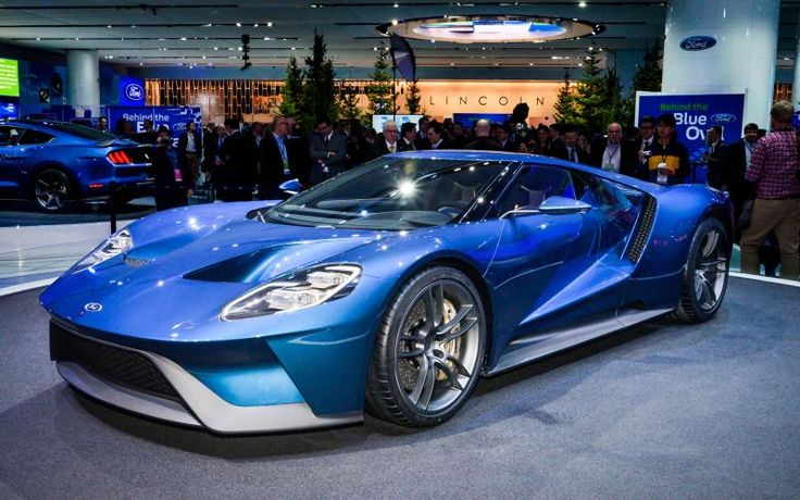 New Ford GT Detroit January 2015