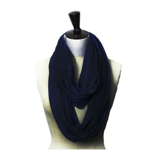 Color Infinity Loop Jersey Scarf - Listing price: $24.99 Now: $11.99