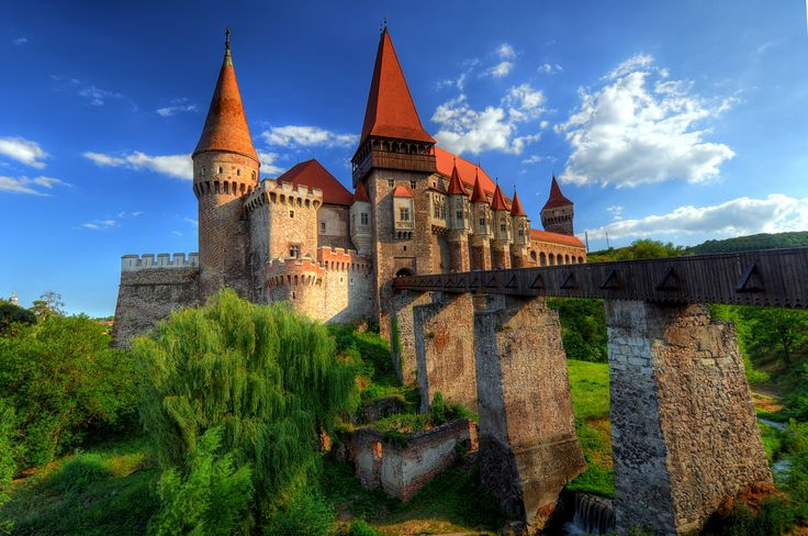 Corvins Castle, Romania - Photo: Vali Muresan