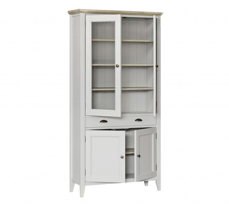 lemari pajangan minimalis duco ini di produksi oleh empat putra furniture asli dari Jepara, Jawa tengah. Lemari ini menggunakan bahan Baku Mahogany Solid dengan sentuhan Finishing White Duco