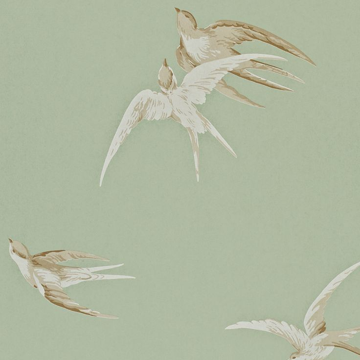 Heal's | Sanderson Swallows Wallpaper - Wallpaper - Wallpaper - Accessories