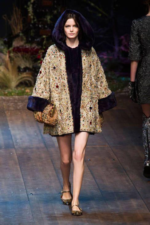 Dolce & Gabbana Fall 2014 Ready-to-Wear Runway - Dolce & Gabbana Ready-to-Wear Collection